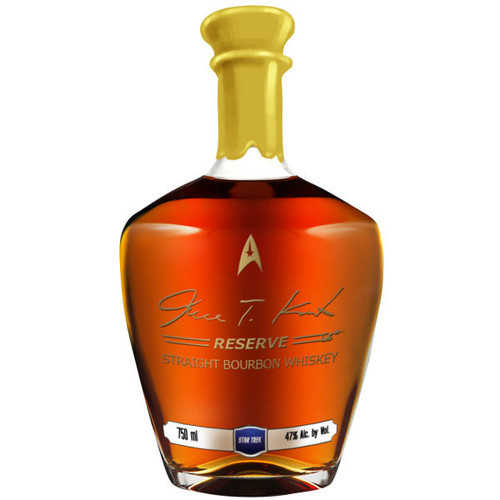 James T. Kirk RESERVE 12 Year Old Straight Bourbon Whiskey 750ml