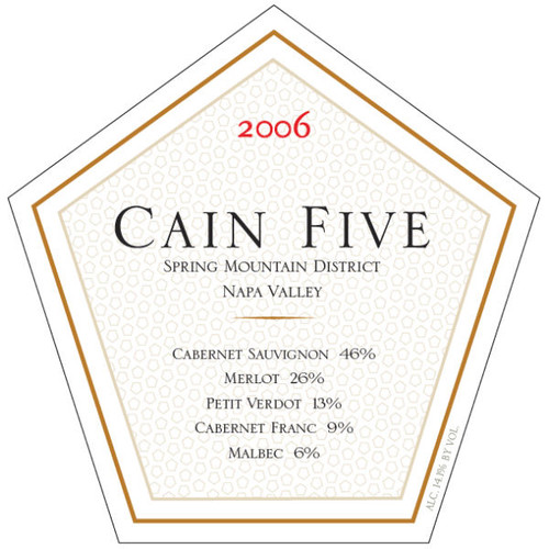 Cain Five Spring Mountain Red Blend
