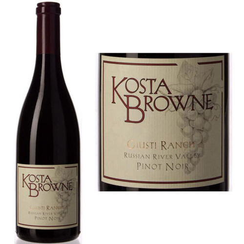 Kosta Browne Giusti Ranch Russian River Pinot Noir