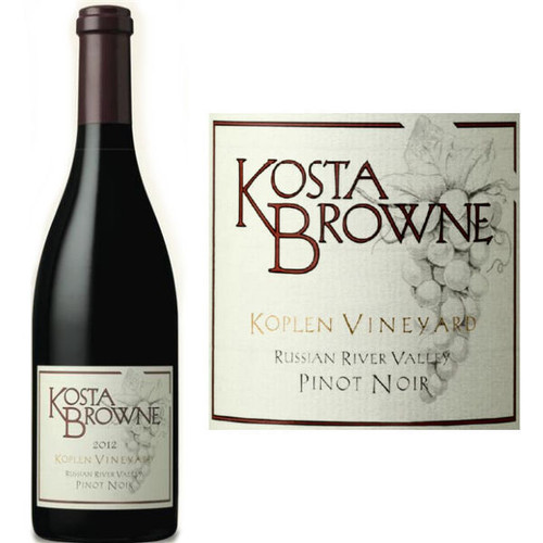 Kosta Browne Koplen Vineyard Russian River Pinot Noir