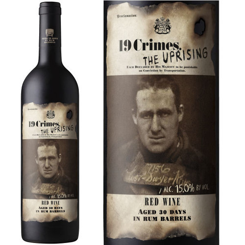 19 Crimes The Uprising Rum Barrel Aged Red Wine