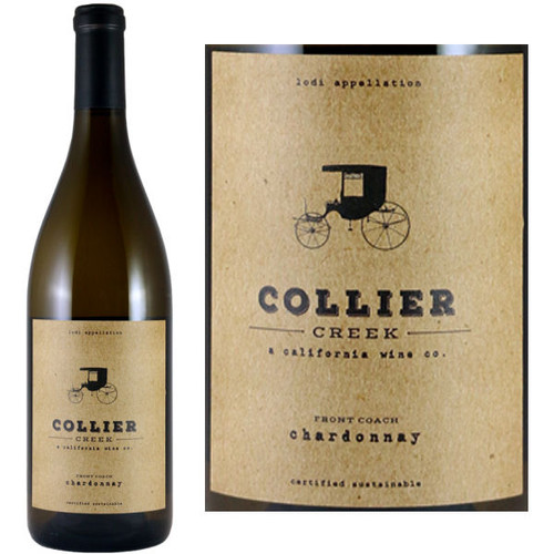 Collier Creek Front Coach Lodi Chardonnay