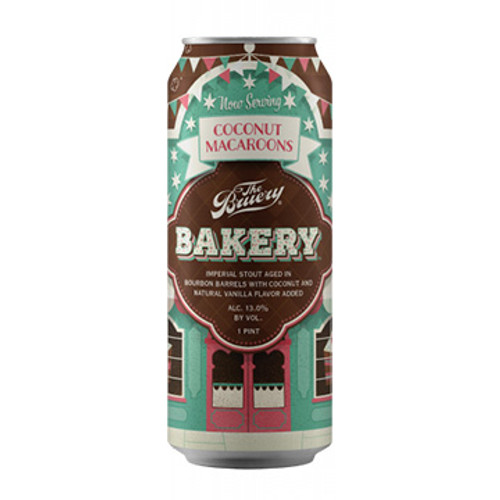 The Bruery Bakery: Coconut Macaroon Barrel Aged Imperial Stout 16oz Can