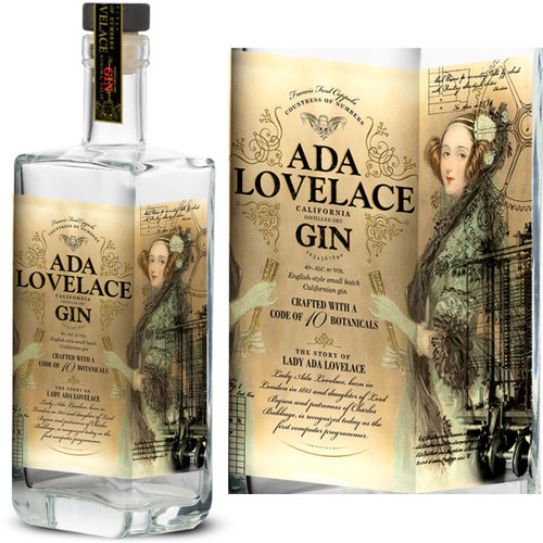 Ada Lovelace California Gin 750ml