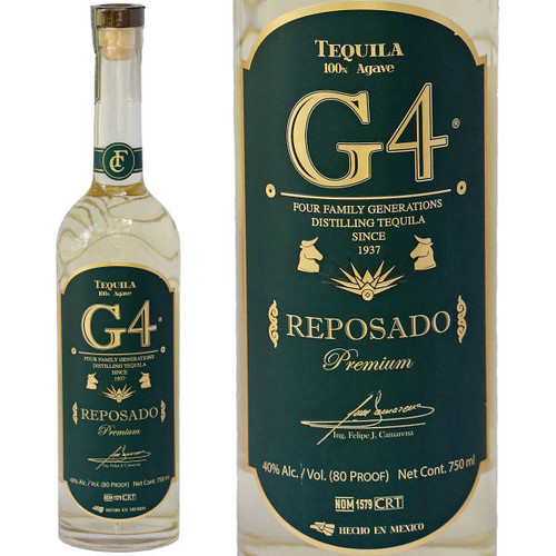 G4 Reposado Tequila 750ml