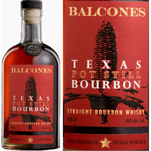 Balcones Texas Pot Still Straight Bourbon Whisky 750ml