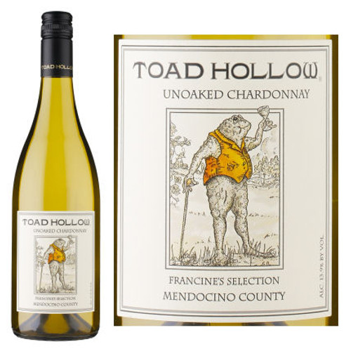 Toad Hollow Francine's Selection Mendocino Unoaked Chardonnay