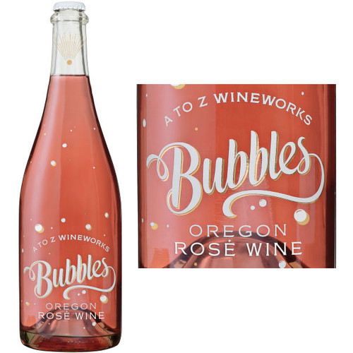 A to Z Wineworks Bubbles Oregon Rose Wine NV