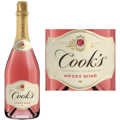 Cook's Sweet Rose California Champagne NV