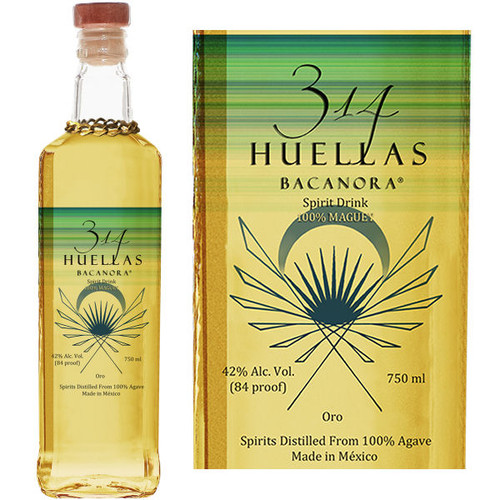 314 Huellas Bacanora Oro 750ml