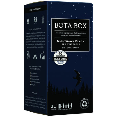 Bota Box Nighthawk Black Red Wine Blend