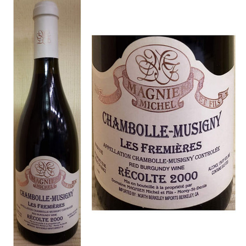 Domaine Magnien Michel Chambolle-Musigny Les Fremieres Red Burgundy