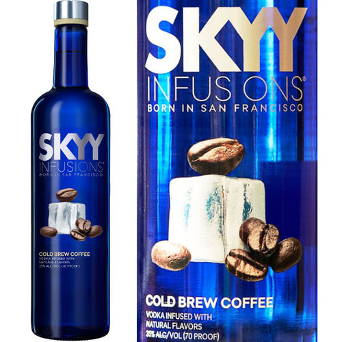 Skyy Infusions Cold Brew Coffee Vodka 750ml