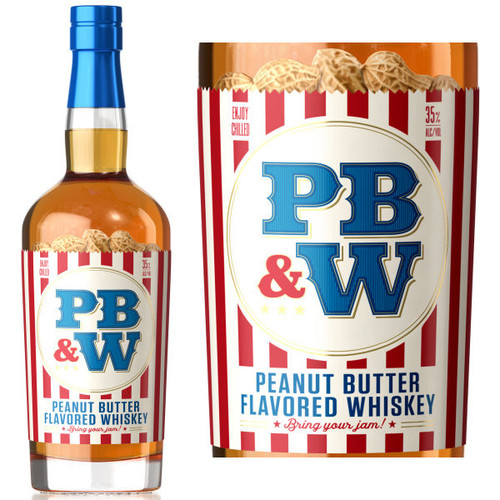 PB&W Peanut Butter Whiskey 750ml