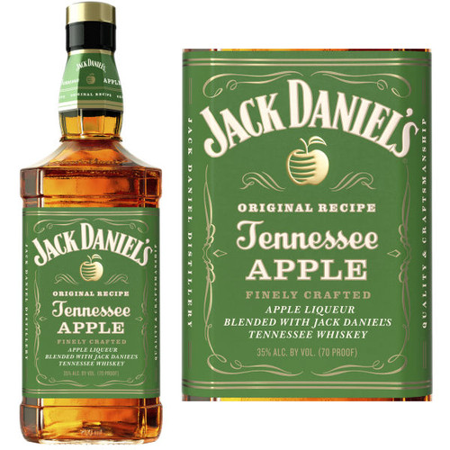 Jack Daniel's Tennessee Apple Liqueur 750ml