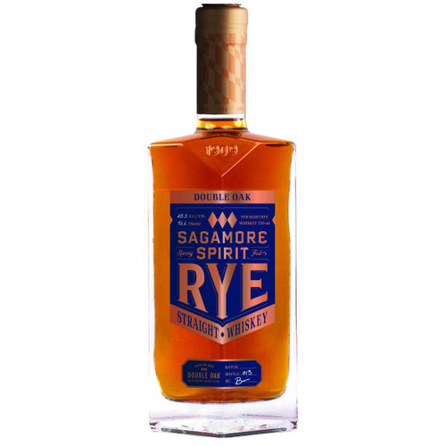 Sagamore Spirit Double Oak Straight Rye Whiskey 750ml