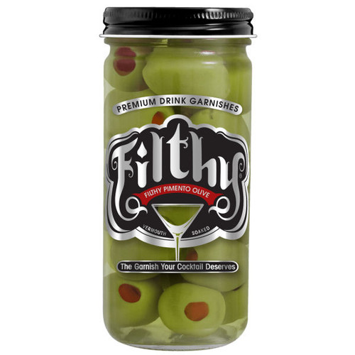 Filthy Pimento Stuffed Olives 8oz