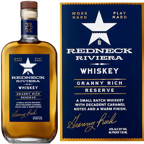 Redneck Riviera Granny Rich Reserve Whiskey 750ml