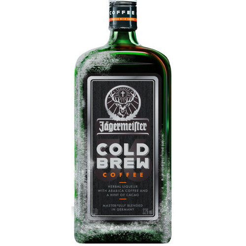 Jagermeister Cold Brew Coffee German Herbal Liqueur 750ml