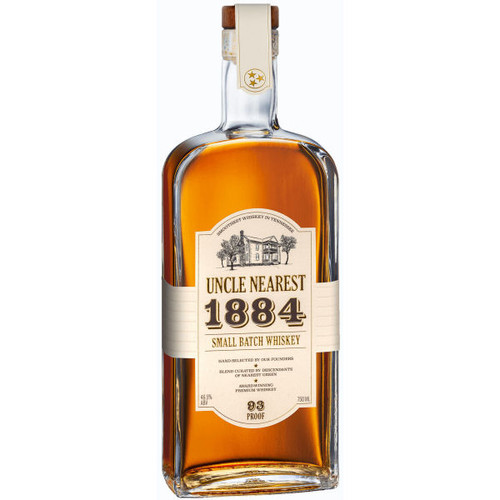 Uncle Nearest 1884 Small Batch Whiskey 750ml