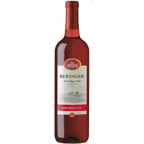 Beringer Main & Vine California Red Moscato