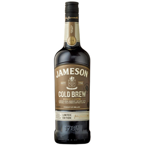 Jameson Cold Brew Coffee and Irish Whiskey 750ml