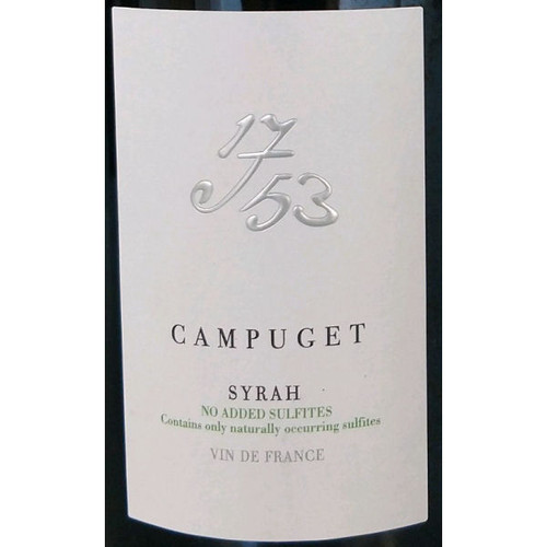 Campuget 1753 Syrah No Added Sulfites