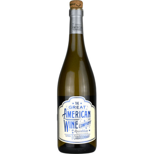 The Great American Wine Company by Rosenblum Chardonnay