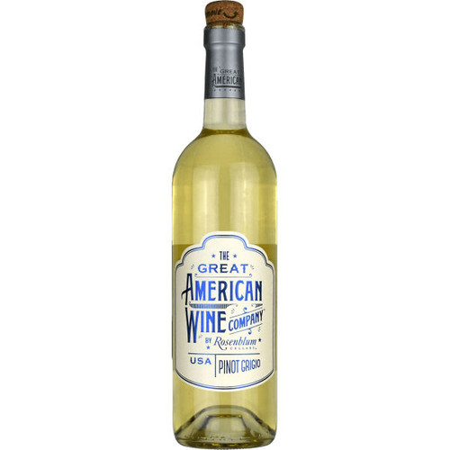 The Great American Wine Company by Rosenblum Pinot Grigio