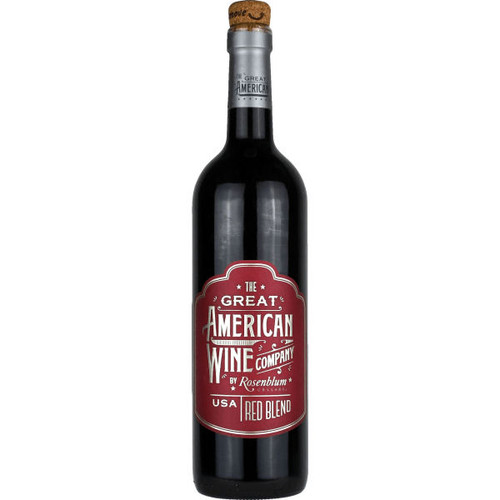 The Great American Wine Company by Rosenblum Red Blend