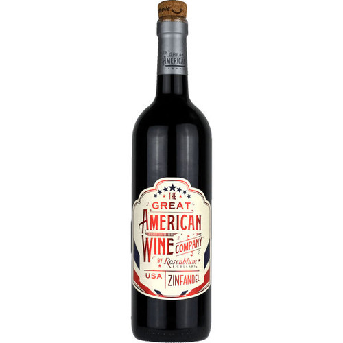 The Great American Wine Company by Rosenblum Zinfandel