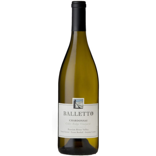 Balletto Cider Ridge Vineyard Russian River Chardonnay