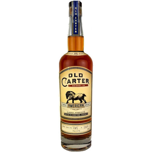 Old Carter 13 Year Old Straight American Whiskey, Batch 5 750ml