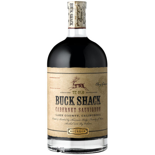 Buck Shack Bourbon Barrel Aged Lake County Cabernet