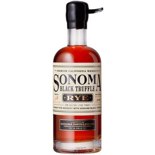 Sonoma Distilling Black Truffle Rye Whiskey 375ml