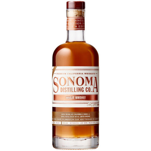 Sonoma Distilling Wheat Whiskey 750ml
