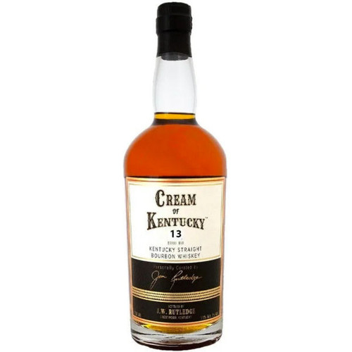 J.W. Rutledge Cream Of Kentucky 13 Year Old Straight Bourbon Whiskey 750ml