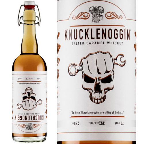 Knucklenoggin Salted Caramel Whiskey 750ml