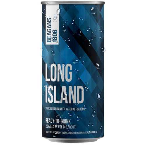 Beagens 1806 Long Island Ready To Drink Cocktail 200ml 4-Pack