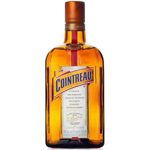 Cointreau Triple Sec Orange Liqueur France 750ml