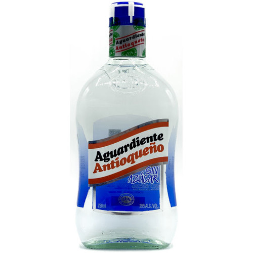 Antioqueno Aguardiente sin Azucar Liqueur 750ml