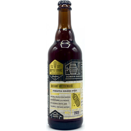 Bottle Logic Distant Messenger Pineapple Golden Stout 2020 500ml