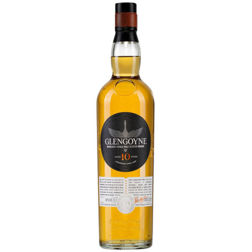 Glengoyne 10 Year Old Highland Single Malt Scotch 750ml