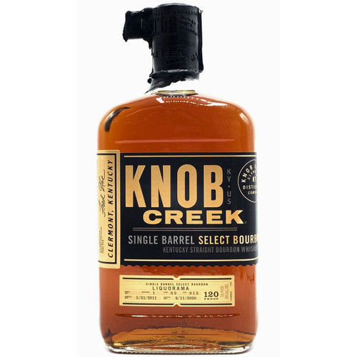 Knob Creek Single Barrel Select Kentucky Straight Bourbon Whiskey 750ml