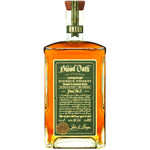 Blood Oath Pact 7 Kentucky Straight Bourbon Whiskey 750ml