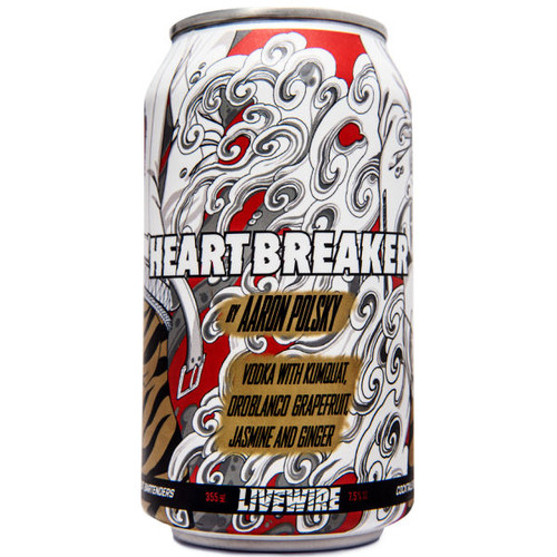 Livewire Heartbreaker Cocktail 355ml 4-Pack