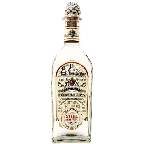Fortaleza Blanco Still Strength Tequila 750ml