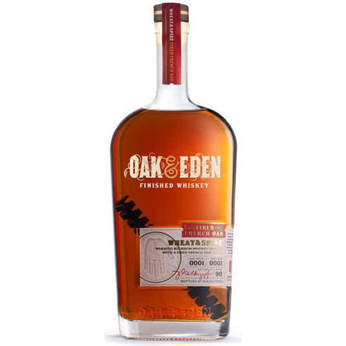 Oak & Eden Wheat & Spire Fired French Oak Finished Whiskey 750ml