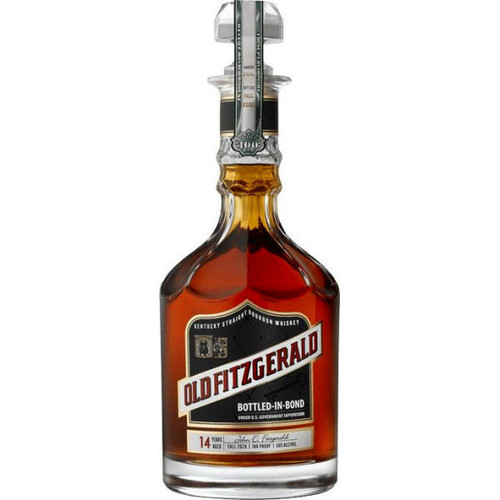 Old Fitzgerald 14 Year Old Bottled in Bond Kentucky Straight Bourbon Whiskey Fall 2020 750ml