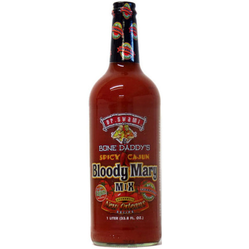 Dr. Swami & Bone Daddy's Spicy Cajun Bloody Mary Mix 1L